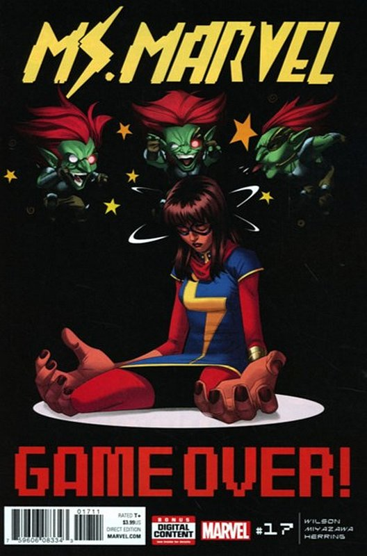Cover of Ms Marvel (Vol 4) #17. One of 250,000 Vintage American Comics on sale from Krypton!