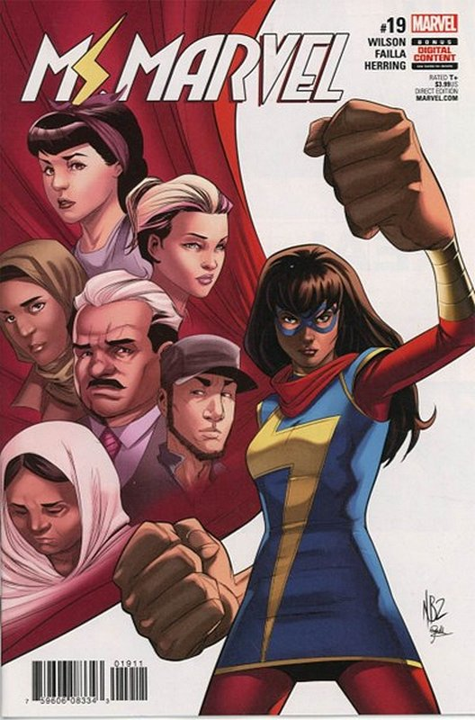 Cover of Ms Marvel (Vol 4) #19. One of 250,000 Vintage American Comics on sale from Krypton!