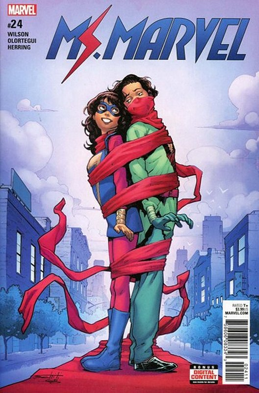 Cover of Ms Marvel (Vol 4) #24. One of 250,000 Vintage American Comics on sale from Krypton!