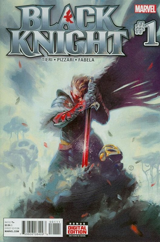 Cover of Black Knight (Vol 1) #1. One of 250,000 Vintage American Comics on sale from Krypton!