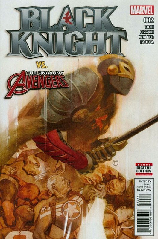 Cover of Black Knight (Vol 1) #2. One of 250,000 Vintage American Comics on sale from Krypton!