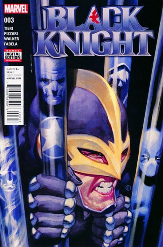 Cover of Black Knight (Vol 1) #3. One of 250,000 Vintage American Comics on sale from Krypton!