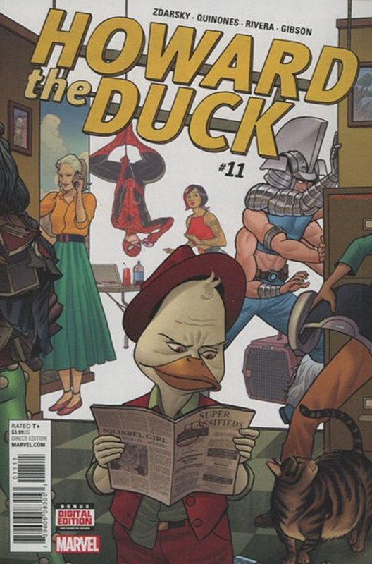 Cover of Howard the Duck (Vol 3) #11. One of 250,000 Vintage American Comics on sale from Krypton!
