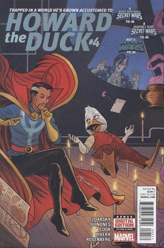 Cover of Howard the Duck (Vol 3) #4. One of 250,000 Vintage American Comics on sale from Krypton!