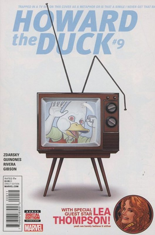 Cover of Howard the Duck (Vol 3) #9. One of 250,000 Vintage American Comics on sale from Krypton!