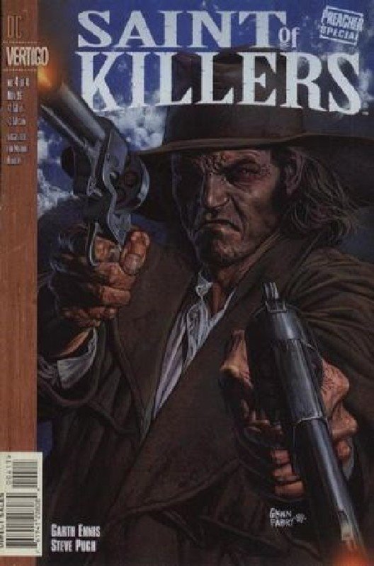 Cover of Preacher Special: Saint of Killers (1996 Ltd) #4. One of 250,000 Vintage American Comics on sale from Krypton!