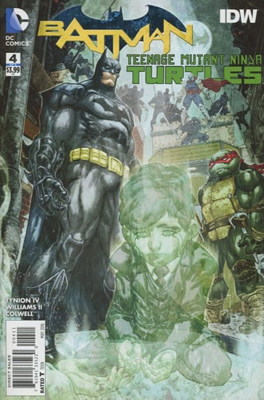 Cover of Batman/Teenage Mutant Ninja Turtles (2016 Ltd) #4. One of 250,000 Vintage American Comics on sale from Krypton!