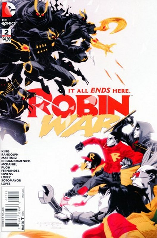 Cover of Robin War (2016 Ltd) #2. One of 250,000 Vintage American Comics on sale from Krypton!