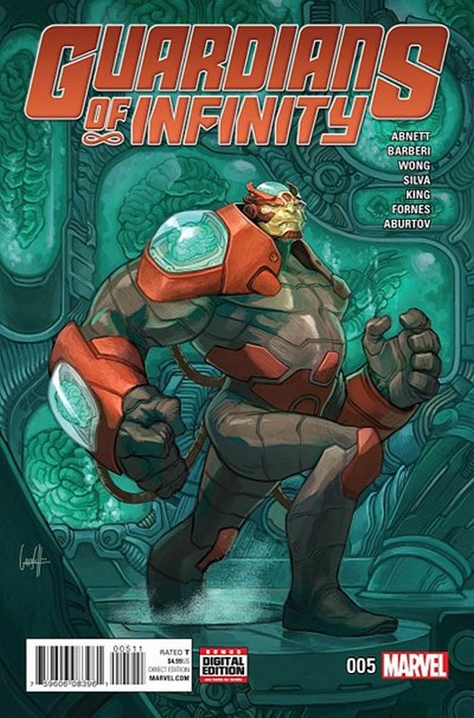 Cover of Guardians of Infinity (Vol 1) #5. One of 250,000 Vintage American Comics on sale from Krypton!