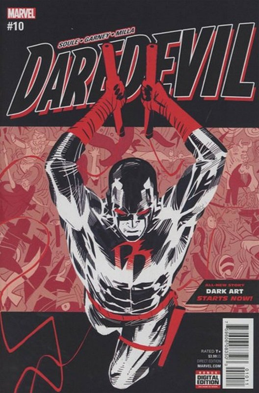 Cover of Daredevil (Vol 5) #10. One of 250,000 Vintage American Comics on sale from Krypton!