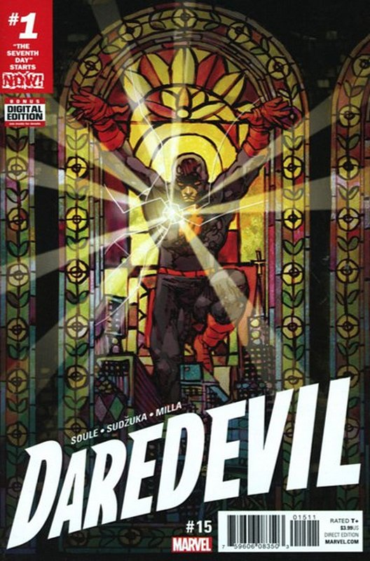 Cover of Daredevil (Vol 5) #15. One of 250,000 Vintage American Comics on sale from Krypton!