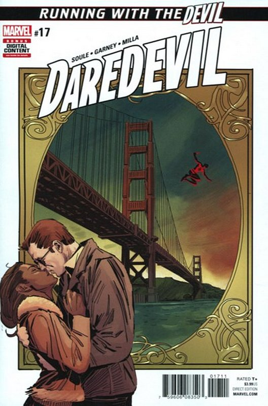 Cover of Daredevil (Vol 5) #17. One of 250,000 Vintage American Comics on sale from Krypton!