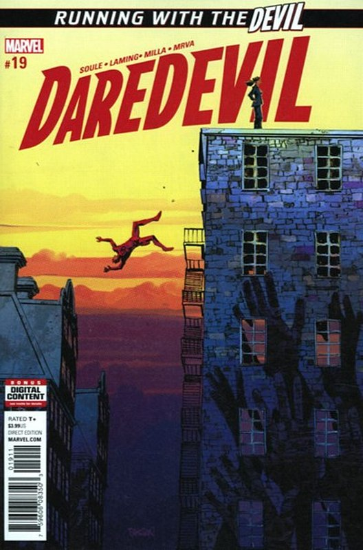 Cover of Daredevil (Vol 5) #19. One of 250,000 Vintage American Comics on sale from Krypton!