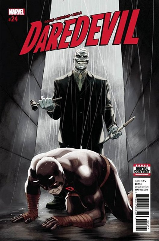 Cover of Daredevil (Vol 5) #24. One of 250,000 Vintage American Comics on sale from Krypton!