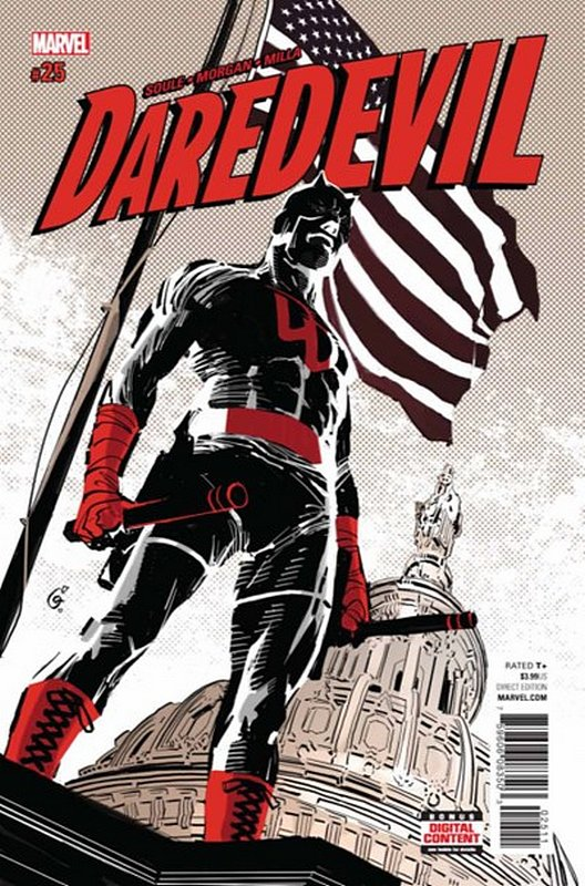 Cover of Daredevil (Vol 5) #25. One of 250,000 Vintage American Comics on sale from Krypton!