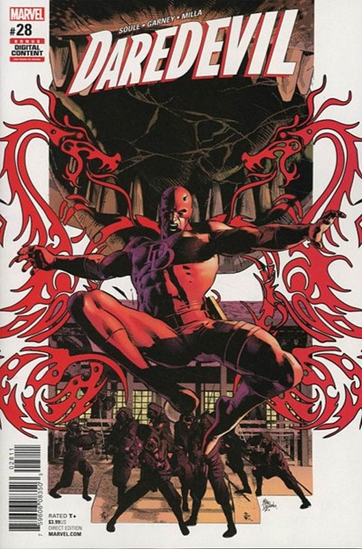 Cover of Daredevil (Vol 5) #28. One of 250,000 Vintage American Comics on sale from Krypton!