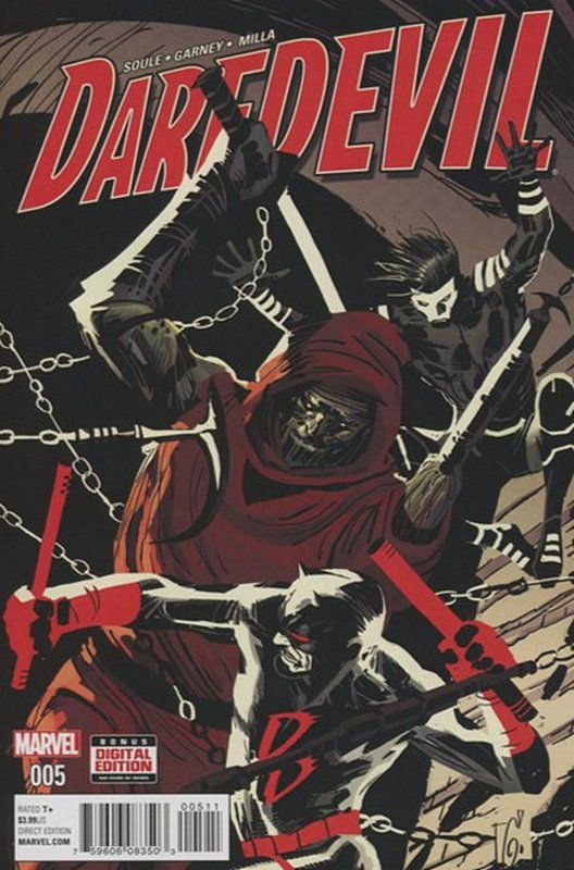 Cover of Daredevil (Vol 5) #5. One of 250,000 Vintage American Comics on sale from Krypton!