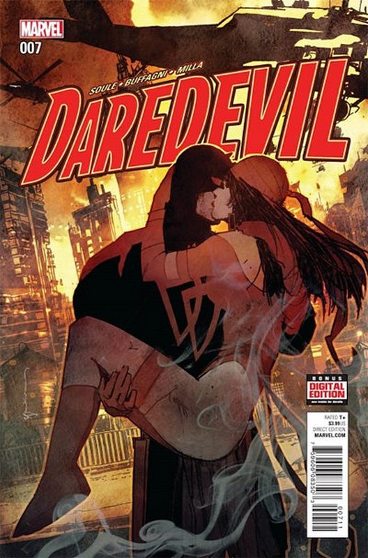Cover of Daredevil (Vol 5) #7. One of 250,000 Vintage American Comics on sale from Krypton!