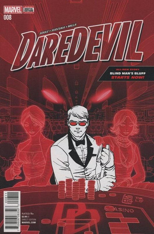 Cover of Daredevil (Vol 5) #8. One of 250,000 Vintage American Comics on sale from Krypton!
