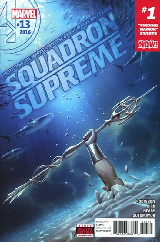 Cover of Squadron Supreme (Vol 3) #13. One of 250,000 Vintage American Comics on sale from Krypton!