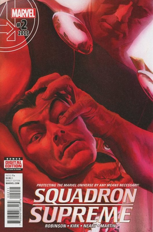 Cover of Squadron Supreme (Vol 3) #2. One of 250,000 Vintage American Comics on sale from Krypton!