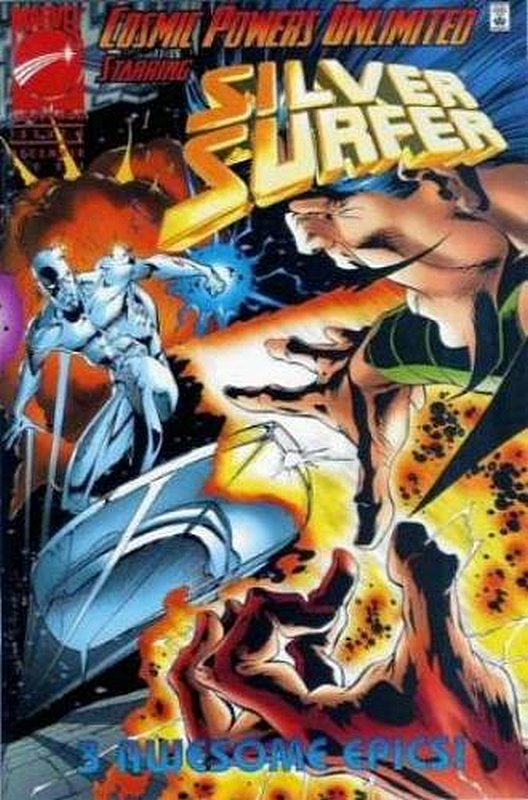 Cover of Cosmic Powers Unlimited (1995 Ltd) #3. One of 250,000 Vintage American Comics on sale from Krypton!