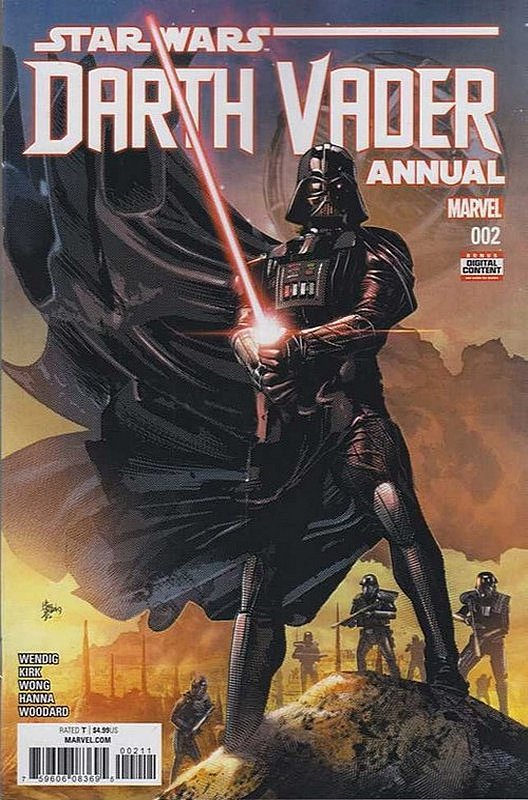 Cover of Darth Vader Annual (2016) #2. One of 250,000 Vintage American Comics on sale from Krypton!
