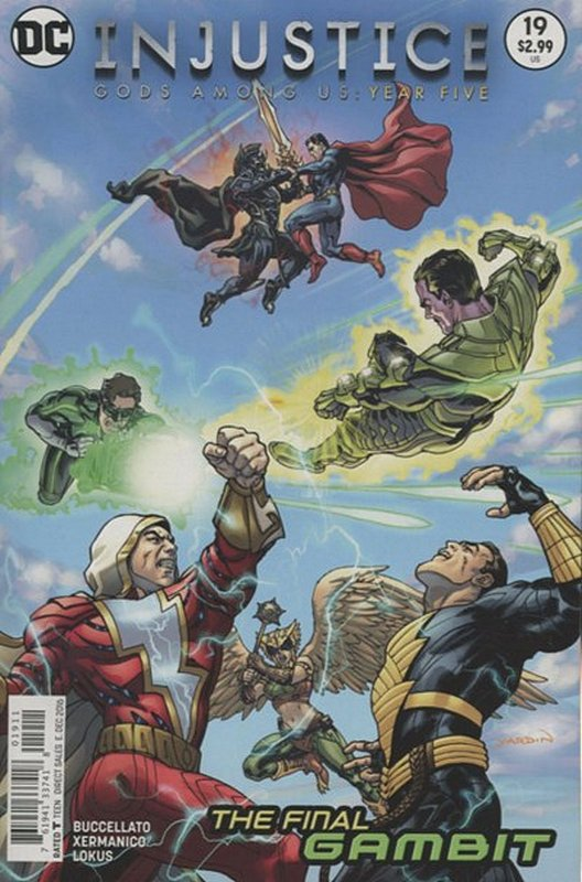 Cover of Injustice: Gods Among Us - Year Five #19. One of 250,000 Vintage American Comics on sale from Krypton!