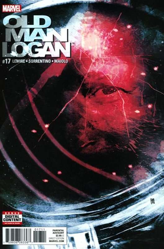 Cover of Old Man Logan (Vol 2) #17. One of 250,000 Vintage American Comics on sale from Krypton!