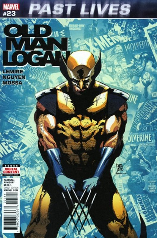Cover of Old Man Logan (Vol 2) #23. One of 250,000 Vintage American Comics on sale from Krypton!