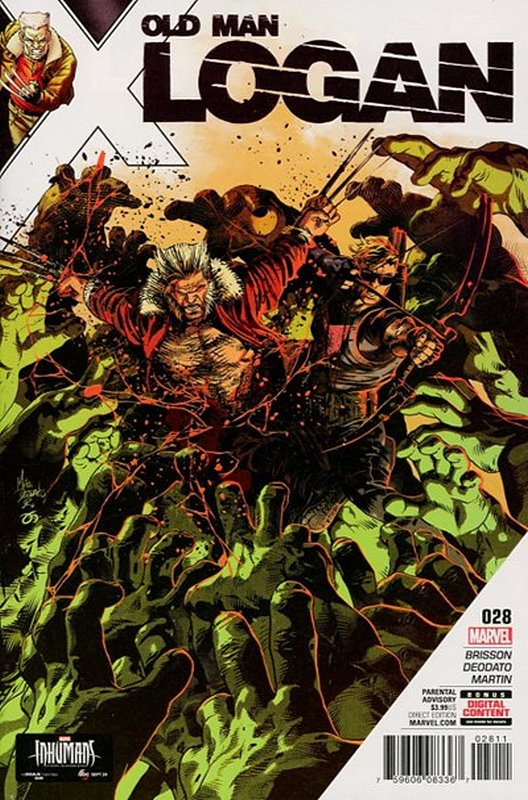 Cover of Old Man Logan (Vol 2) #28. One of 250,000 Vintage American Comics on sale from Krypton!
