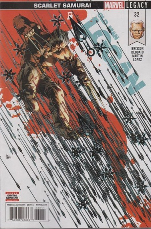 Cover of Old Man Logan (Vol 2) #32. One of 250,000 Vintage American Comics on sale from Krypton!