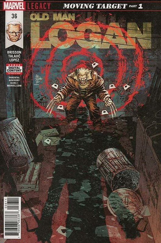 Cover of Old Man Logan (Vol 2) #36. One of 250,000 Vintage American Comics on sale from Krypton!