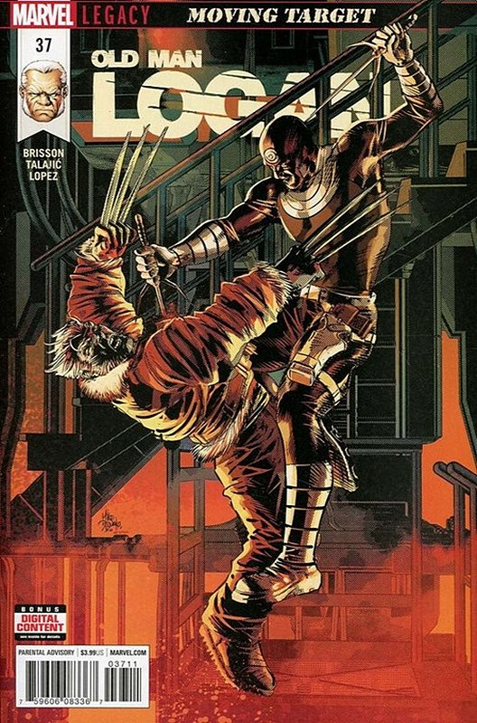 Cover of Old Man Logan (Vol 2) #37. One of 250,000 Vintage American Comics on sale from Krypton!