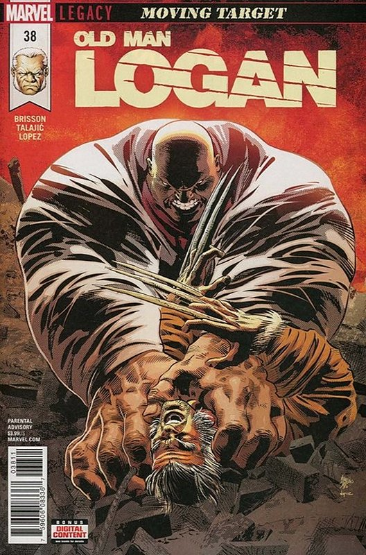 Cover of Old Man Logan (Vol 2) #38. One of 250,000 Vintage American Comics on sale from Krypton!