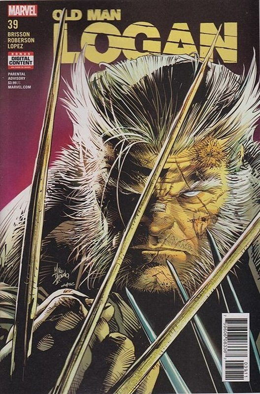 Cover of Old Man Logan (Vol 2) #39. One of 250,000 Vintage American Comics on sale from Krypton!
