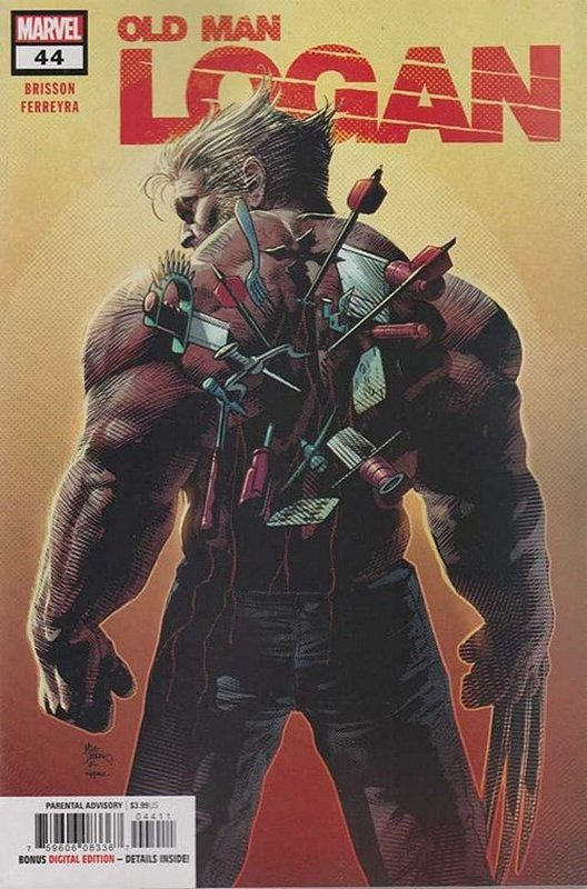 Cover of Old Man Logan (Vol 2) #44. One of 250,000 Vintage American Comics on sale from Krypton!