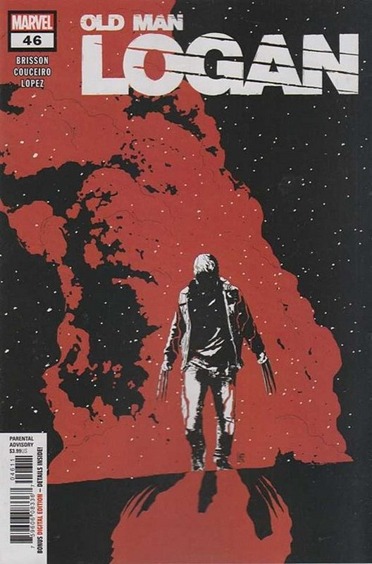 Cover of Old Man Logan (Vol 2) #46. One of 250,000 Vintage American Comics on sale from Krypton!