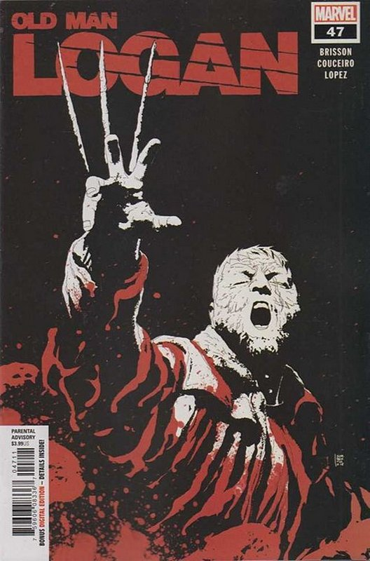 Cover of Old Man Logan (Vol 2) #47. One of 250,000 Vintage American Comics on sale from Krypton!