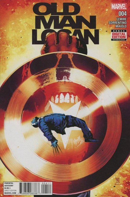 Cover of Old Man Logan (Vol 2) #4. One of 250,000 Vintage American Comics on sale from Krypton!