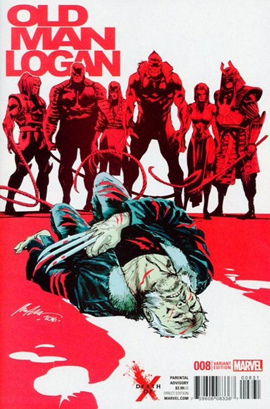 Cover of Old Man Logan (Vol 2) #8. One of 250,000 Vintage American Comics on sale from Krypton!
