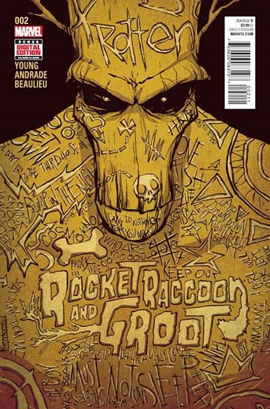 Cover of Rocket Raccoon & Groot (2016 Ltd) #2. One of 250,000 Vintage American Comics on sale from Krypton!