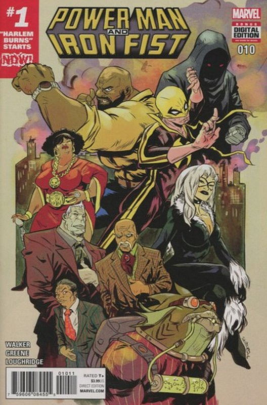 Cover of Powerman & Iron Fist (Vol 2) #10. One of 250,000 Vintage American Comics on sale from Krypton!