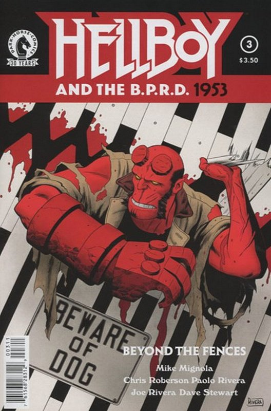 Cover of Hellboy & BPRD 1953: Beyond The Fences #3. One of 250,000 Vintage American Comics on sale from Krypton!
