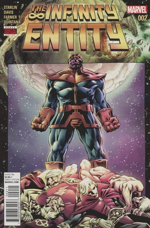 Cover of Infinity Entity (2016 Ltd) #2. One of 250,000 Vintage American Comics on sale from Krypton!