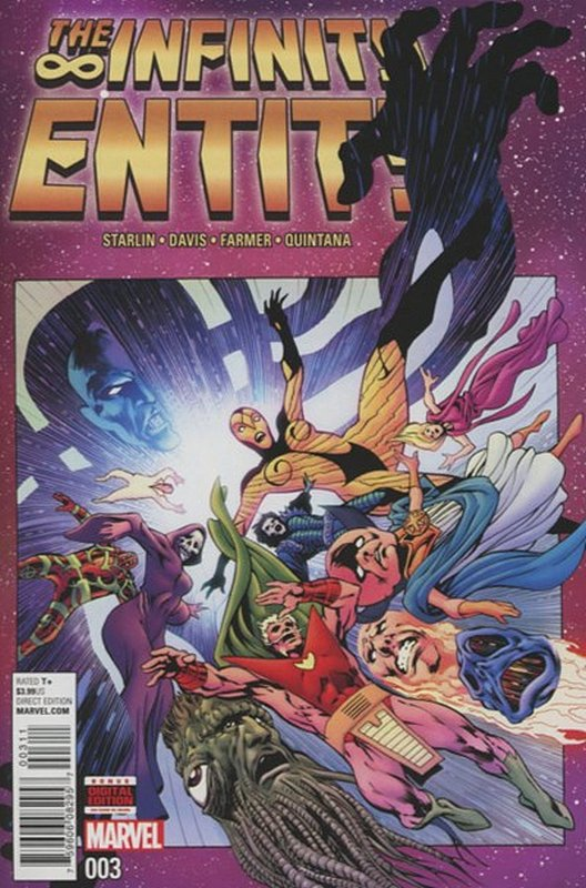 Cover of Infinity Entity (2016 Ltd) #3. One of 250,000 Vintage American Comics on sale from Krypton!