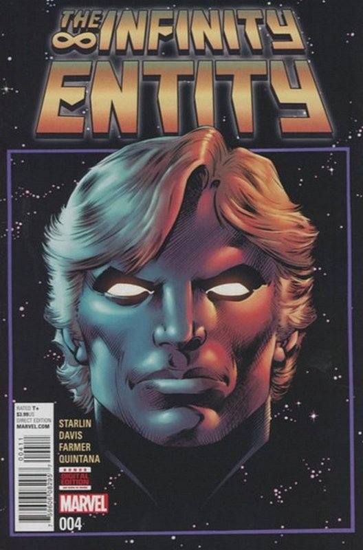 Cover of Infinity Entity (2016 Ltd) #4. One of 250,000 Vintage American Comics on sale from Krypton!