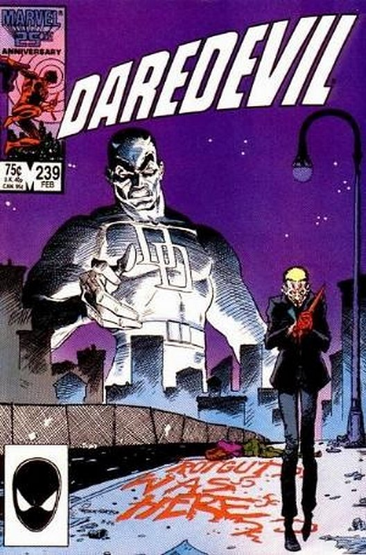 Cover of Daredevil (Vol 1) #239. One of 250,000 Vintage American Comics on sale from Krypton!