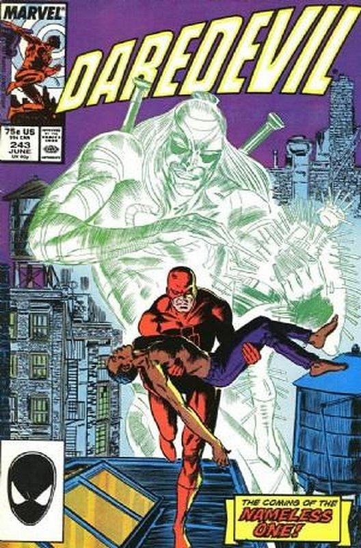 Cover of Daredevil (Vol 1) #243. One of 250,000 Vintage American Comics on sale from Krypton!