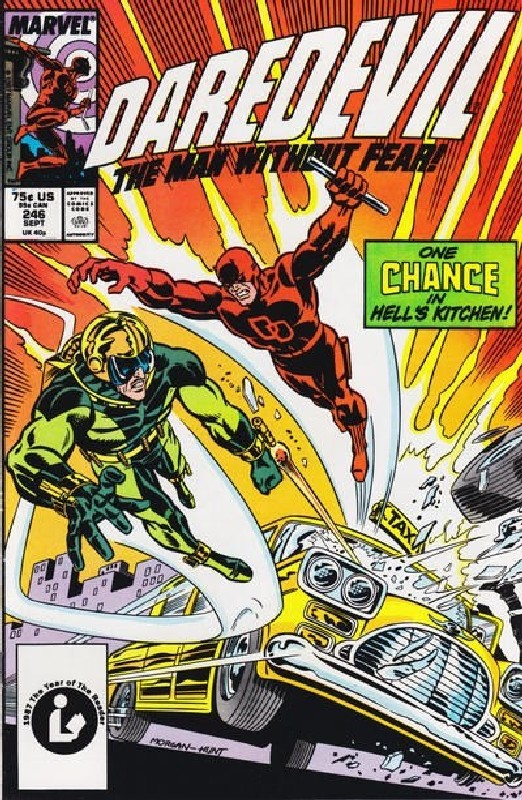 Cover of Daredevil (Vol 1) #246. One of 250,000 Vintage American Comics on sale from Krypton!